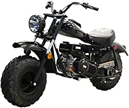 Massimo Warrior200 196CC Black Mini Moto Trail Bike MX Street for Kids Adults Motorcycle Powersport
