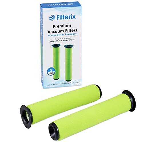 Gtech-Filter, kompatible Ersatzteile für AirRam MK2 & Air Ram MK2 K9 Staubsauger, 2 Stück