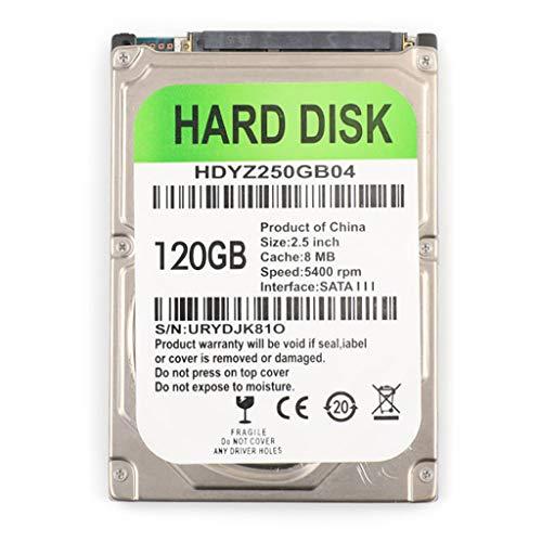 kdjsic Cable Adaptador USB HDD SATA 80/120/160/250/320 / 500GB para computadora portátil Disco Duro mecánico Interno