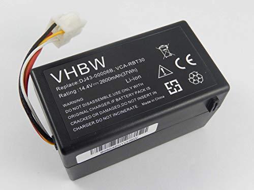 vhbw Batería Li-Ion 2600mAh (14.4V) para robot aspidador...