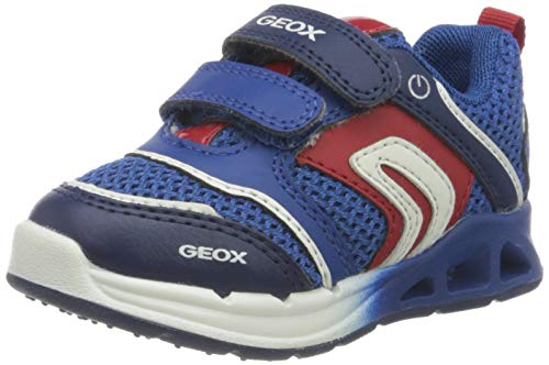 Geox B Dakin Boy A, Zapatillas Bebé-Niños, Azul (Royal/Red C0833), 23 EU