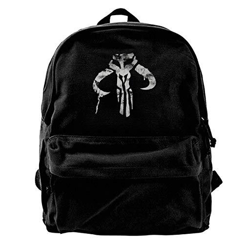Student Backpack Boba Fett Shoulder Pack Bag Daypack Bookbag Men Women Boys Girls Laptop Backpack Rucksack Daypack