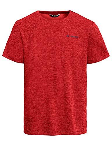 Vaude Herren T-shirt Men's Essential T-Shirt, Carmine, L, 41326