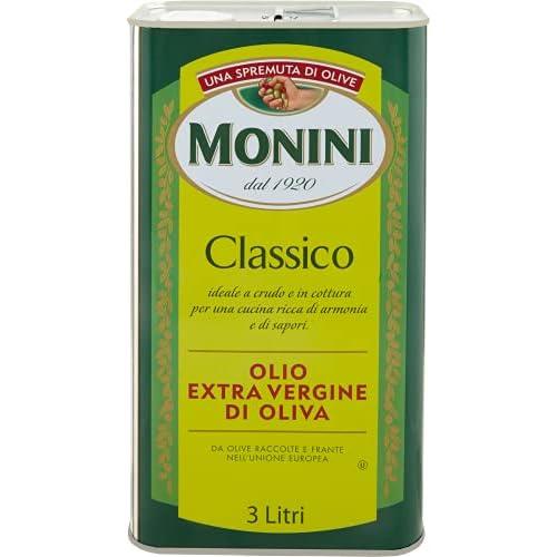 Monini Olio Extra Vergine Monini Classico Formato Latta Da 3 Litri - 3000 ml