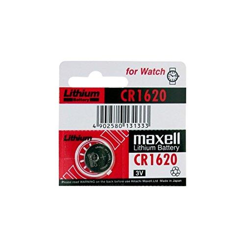 1 pile MAXELL CR1620 lithium 3V