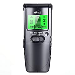 Safe and Reliable. VIVREAL is committed to developing the reliable stud finder and helping you detect the hazard. No more worries about the annoying little things during decoration with the help of this stud finder. VIVREAL stud finder can help you f...
