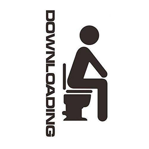 - Homeworld- grappige toiletsticker downloaden. Grote sticker voor de wc-deur/badkamerdeur. #24.
