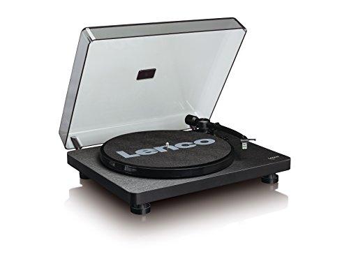 Lenco Plattenspieler L-30 Holzgehäuse vinyl player mit USB-Anschluss zum Digitalisieren von Schallplatten