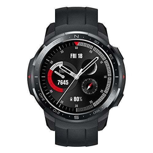HONOR Watch GS Pro - Smartwatch GPS Multisport con Corpo Robusto e Resistente, 25-Giorni Batteria Durata, 1,39 Pollici AMOLED, IP68, Frequenza Cardiaca 24-ore, compatibile con Android e iOS (Nero)