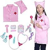社会性 言語力 知育玩具 想像力育ち お誕生日プレゼント クリスマス びょういん 贈りックス お医者さん 看護婦 おもちゃセット 女の子 男の子 病院 注射 聴診物 想像力育ちこども ままごと ツールボ器 pink