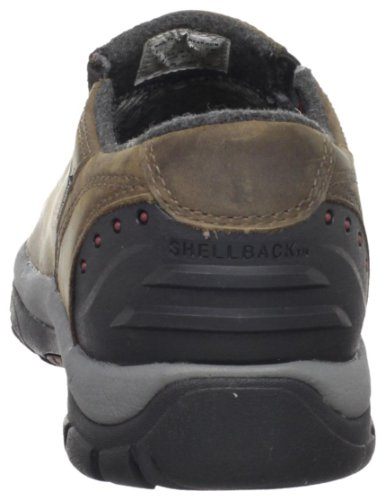 KEEN Men's Brixen Lo Waterproof Insulated Shoe,Slate Black/Madder Brown,10.5 M US