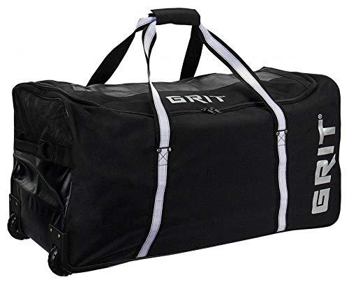 Grit HX1 Choice Wheeled Hockey Bag, Farbe:Schwarz, Größe:36 Zoll