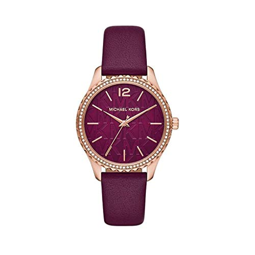 Michael Kors - Reloj de Cuarzo de Cuero para Mujer MK2926