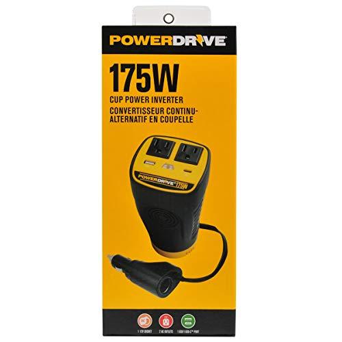 PowerDrive Updated 175 Watt Cup Power Inverter