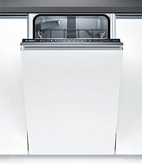 Bosch Serie 2 SPV25CX03E Totalmente integrado 9cubiertos A+ lavavajilla - Lavavajillas (Totalmente integrado, Slimline (45 cm), Acero inoxidable, Botones, 1,75 m, 1,65 m)