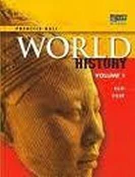 World History-Indiana Survey Student Edit. 0133652173 Book Cover