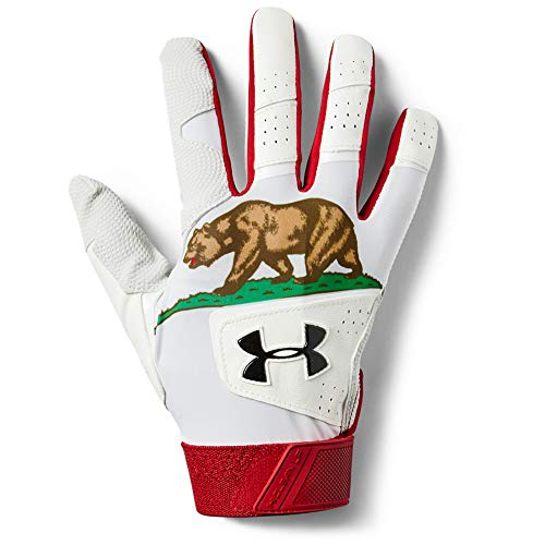 Under Armour Men's Clean Up 19 - Culture Baseball Gloves , White (101)/Black , X-Large