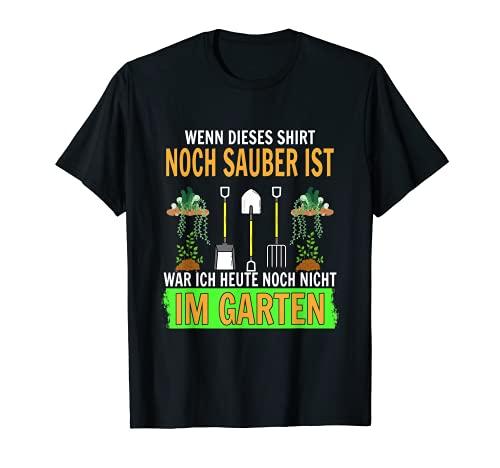 Si esta camiseta todava est limpia, todava no estaba en el jardn. Camiseta