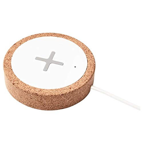 IKEA Nordmarke Wireless Charger White Cork 504.425.81