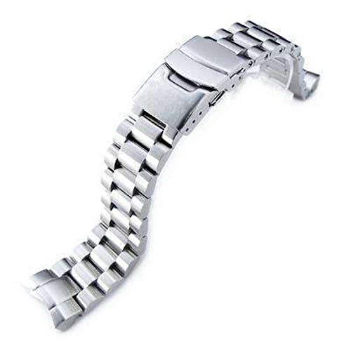 Strapcode Uhrenarmband 20mm Endmill Uhrenarmband für Seiko Sumo SBDC001, SBDC003, SBDC005, SBDC031, SBDC033