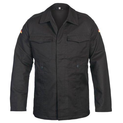 Mil-Tec BW Moleskin Chaqueta Negro tamaño S Reg (6)