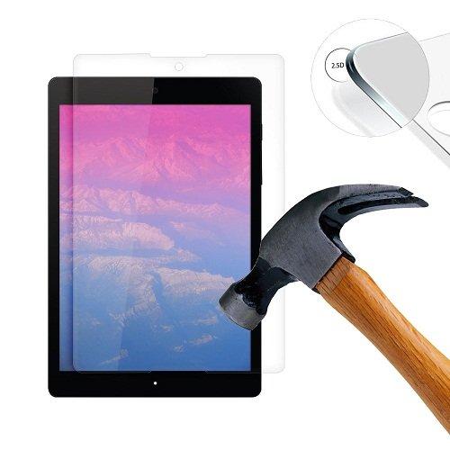 Lusee 2 Stück Schutzfolie für HTC Google Nexus 9 Tablet [9H Festigkeit] Bildschirmschutzfolie HD Schutzfolie [Anti Kratzer] [Anti Fingerabdruck] 2.5D Panzerfolie