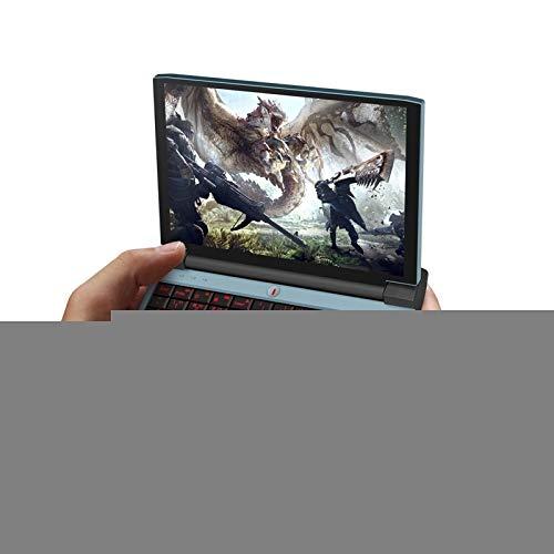 Anbel De Juego portátil de 7.0 Pulgadas, uno con Netbook Una GX-4G, 8GB + 256 GB, Windows 10 Intel Core Quad Core i5-10210Y hasta 4.0GHz, Soporte Wi-Fi y Bluetooth 6 y Micro HDMI