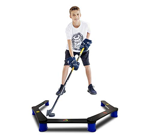 Hockey Revolution Lightweight Stickhandling Training Aid, Equipment for Puck Control, Reaction Time and Coordination - MY ENEMY