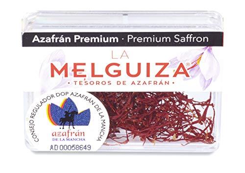 Azafrán Premium en hebras DOP LA MANCHA Estuche Metacrilato 1 gr
