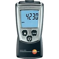 Testo 0560 0460 460 Speed meter, inclusief beschermkap, kalibratieprotocol en batterijen*