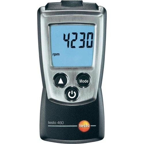 Testo SE & Co.KGaA Testo 0560 0460 460 Drehzahl-Messgerät, inklusive Schutzkappe, Kalibrier-Protokoll und Batterien