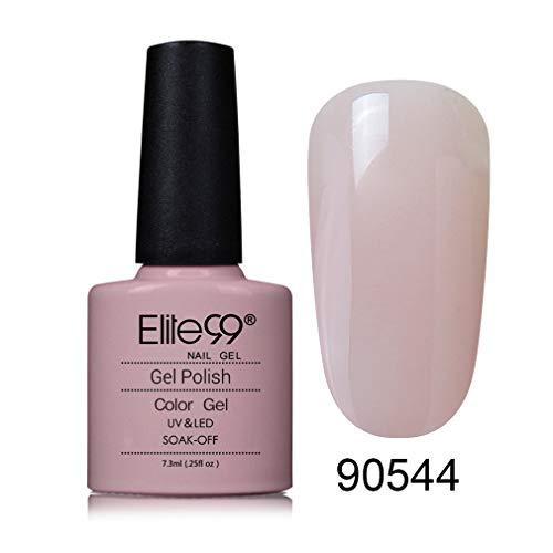Elite99 Smalto Semipermente per Unghie in Gel UV LED Smalti per Unghie Romantico Gel Semipermanente per Unghie Colori Soak Off Manicure e Pedicure in 1pzs - 90544