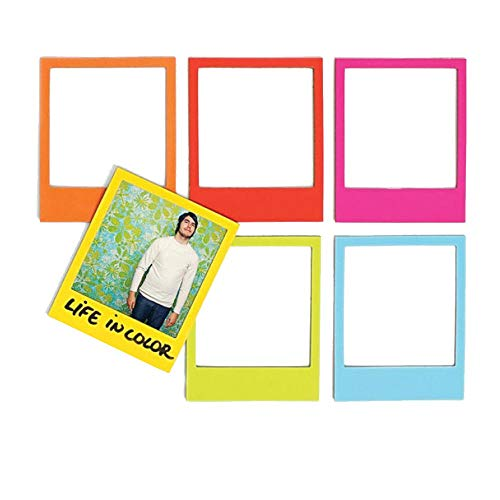 kamiustore Calamite portafoto - Set 4 magneti Colorati per Foto da attaccare al frigo - calamita per Frigorifero