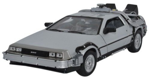 Collectors Welly - Maqueta del Delorean de Regreso al Futuro I (Escala: 1/24,...