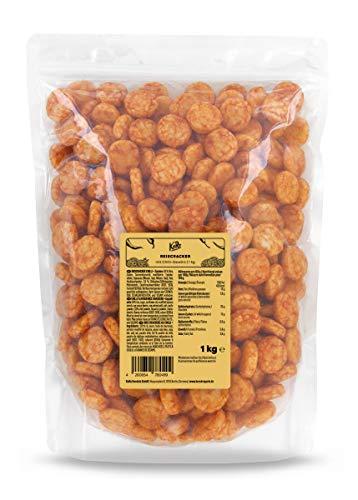 KoRo - Reiscracker Chilli 1 kg - Lecker scharfe Knabberei für Zwischendurch