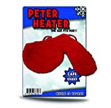Peter Heater Knit Willy Warmer Men Funny White Elephant and Christmas Gag Gift