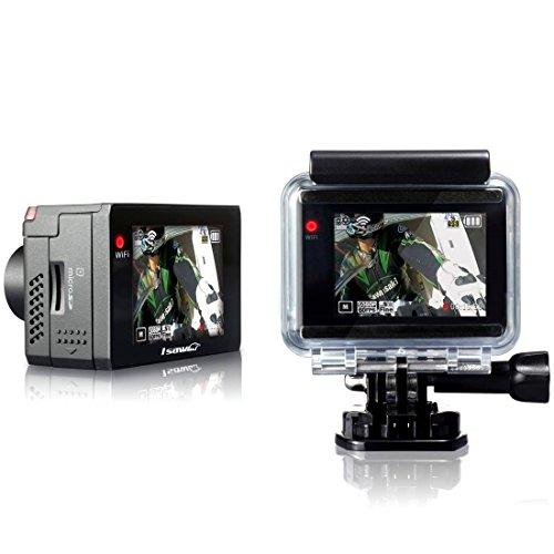 ISAW Extreme 1080p 60fps Fullhd Sony sensor 12mp Ambarella A7 Waterproof 50m