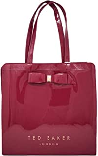 Ted Baker Women's Almacon Bow Detail Large Icon Bag in Deep Pink