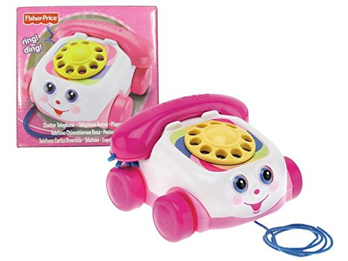 Fisher-Price Fp Telephone Rose Pink