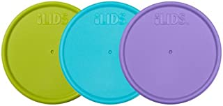 iLIDS Mason Jar Storage Lid, Wide Mouth, Beach, Pack of 3