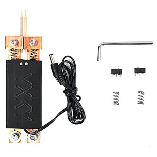 Punktschweißstift,Handpunktschweißgerät,Integriertes Punktschweißschweiß Werkzeug,DIY Automatischer Auslöser Punktschweißausrüstung,Akku punktschweißgerät,Elektronische Schweißgeräte