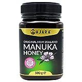 Miel de Manuka MGO 500+ Activo, Crudo, Puro y Natural al 100% - Producto Certificado Metilglioxal en...