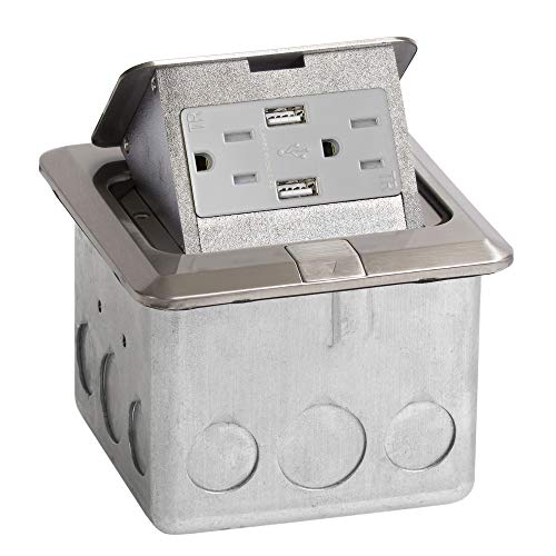 stainless steel 15 amp outlets - 2