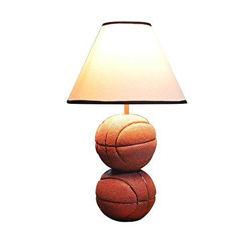 SKC Lighting-lampe de table Lumière de bureau moderne pour enfants style minimaliste résine résineuse sculpté en basketball lumière corps personnalité chambre salle d'étude salon lampe de chevet