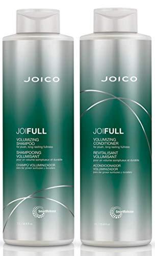 Joico JOIFULL Volumizing Shampoo and Conditioner Set, 33.8 Fl Oz