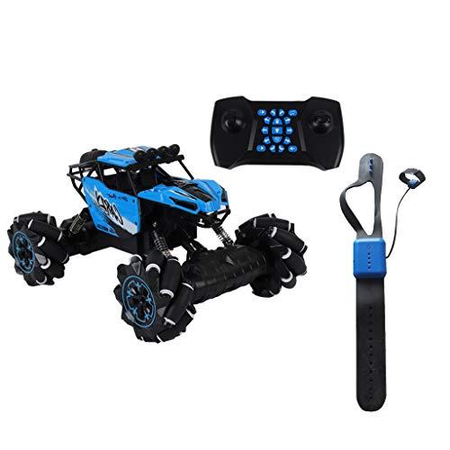 Find Bargain HHoo88 Xmas Stunt RC Car Gesture Gravity Sensing Twisting Vehicle Drift Car Driving Toy...