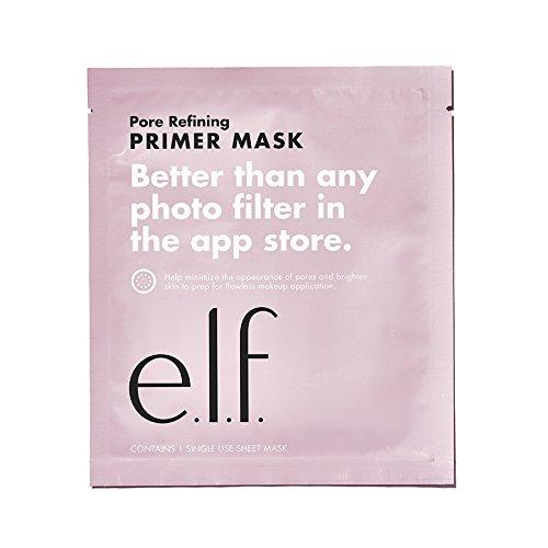 e.l.f. primer hoja máscara–Repara la piel para Aplicación de Maquillaje al también ayudando a reducir los poros y diseño atractivo piel