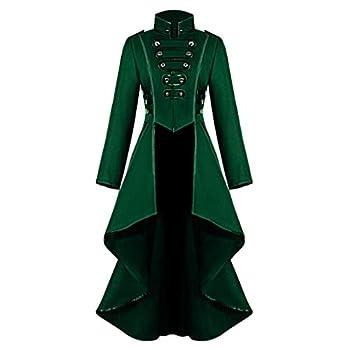 Women s Coat Gothic Steampunk Corset Costume Victorian Tailcoat Jacket Steampunk Long Trench Coat Overcoat Tuxedo Suit