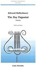 Mollenhauer, Edward - The Boy Paganini (Fantasia) - Violin and Piano - Carl Fischer Edition