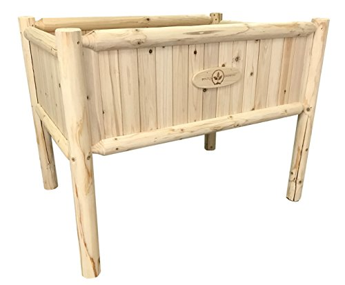 Boldly Growing Raised Planter Box with Legs -...